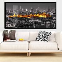 Tranh canvas treo tường Decor thành phố cách điệu  - DC119