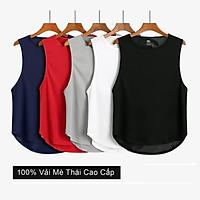 [COMBO 5] Áo thun 3 lỗ thể thao, áo sát nách nam chạy bộ cao cấp, form chuẩn, vải Mè Thái co giãn đa chiều
