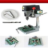 Máy khoan bàn mini chất lượng cao ( Tốc độ vận hành cao, linh hoạt, chắc chắn, an toàn)- ( Tặng ví thép đa năng 11in1)