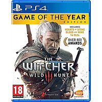 Đĩa Game PS4 The Witcher 3 Wild Hunt Game Of The Year Edition -hàng Nhập khẩu