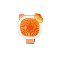QUẠT SẠC MINI CẦM TAY ĐỂ BÀN Có đèn Led ( giao hàng ngẫu nhiên )