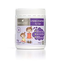 Bột tăng cân, tăng chiều cao cho bé Bio Island Lysine Starter for Kids 150g