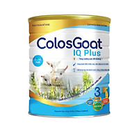 2 Hộp Sữa dinh dưỡng COLOSGOAT IQ PLUS 3 - 900g