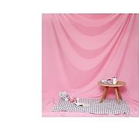 Phông vải đơn sắc hồng 2.9x2m
