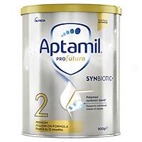 Aptamil Profutura Synbiotic+ Stage 2 Follow On Formula 900g Sữa Bột Công Thức Úc Cho Bé 6-12 Tháng
