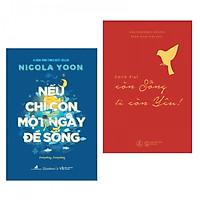 Combo Sách Hay: Nếu Chỉ Còn Một Ngày Để Sống + Édith Piaf – Còn Sống Là Còn Yêu (Tặng kèm Bookmark Phương Đông Books)