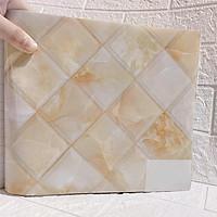 Giấy dán tường giả gạch - Decal dán tường giả gạch khổ 60x120cm