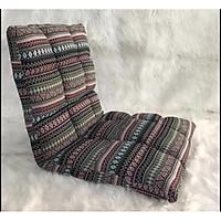 Ghế lười tựa lưng Tatami- phong cách vintage kich thước 50x100 loại đẹp