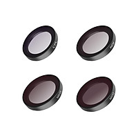 TELESIN IS-FLT-GO2 Camera Filter Kit with 4pcs Filters(CPL + ND8 + ND16 + ND32) HD Optical Glass Multi-layer Coating