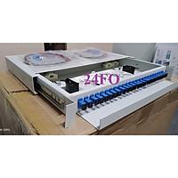 Hộp phối quang 24 sợi, SC Single mode, đầy đủ phụ kiện. Hàng chính hãng