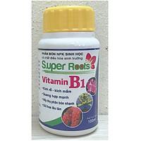Phân Bón NPK Sinh Học Super Roots Vitamin B1, Kích Rễ, Kích Mầm, Quang Hợp Mạnh, Hấp Thụ Phân Bón Nhanh, Giữ Hoa Lâu Tàn, Thể Tích: 100ml