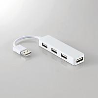 Hub 4 Cổng USB 2.0 Elecom U2H-SN4NBWH - Hàng chính hãng