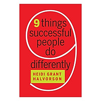 Harvard Business Review: Nine Things Successful People Do Differently