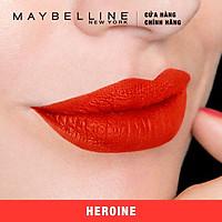 Son Kem Lì Maybelline Super Stay Matte Ink 5ml - Màu 25 Heroine