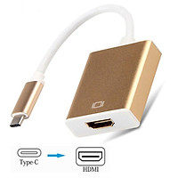 USB-C to HDMI Adapter USB Type C Male to HDMI Female 4K Converter for iPad Pro/MacBook Pro/iMac/ChromeBook Pixel Type-C Device Adaptor