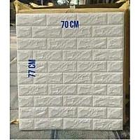 Xốp Dán Tường 3D Khổ 70x77CM Chống Ẩm