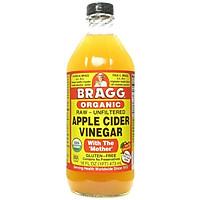 Thùng Giấm táo BRAGG Hữu cơ Nhập khẩu USA [12 chai 473ml ]