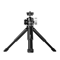 Ulanzi U-Vlog lite Extendable Dual Cold Shoe Ball Head Tripod for Phone Mirrorless Camera Vlog Compatible with iPhone