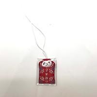 Túi gấm Omamori học tập đỏ