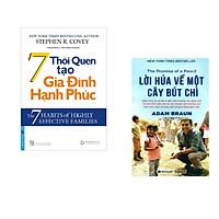 Combo 2 cuốn sách: 7 Thói Quen Tạo Gia Đình Hạnh Phúc + Lời hứa về một cây bút chì