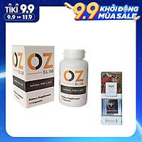 Thực phẩm chức năng Viên uống hỗ trợ giảm cân OZ Slim USA (40 viên) - Nhập khẩu Mỹ