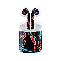 Miếng dán skin chống bẩn cho tai nghe AirPods in hình siêu anh hùng - SAH0047 (bản không dây 1 và 2)