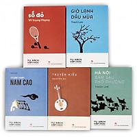 Trọn bộ 05 cuốn Văn học trong nhà trường: Số đỏ - Truyện ngắn Nam Cao - Truyện Kiều - Gió lạnh đầu mùa - Hà Nội băm sáu phố phường