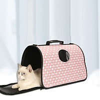 Balo đựng thú cưng- Túi vận chuyển cho chó mèo 43x20x27cm, mẫu ngẫu nhiên