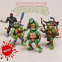 Bộ Đồ Chơi Lego 06 Mô Hình Nhân Vật Ninja Rùa - Ninja Turtle Toys (Cao 12 cm)