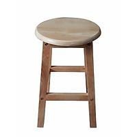 Ghế gỗ cao su cao 45cm AS1016