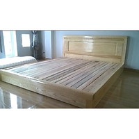 Giường ngủ gỗ kiểu nhật bệt MS A1