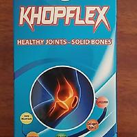 Thực phẩm bảo vệ sức khỏe KHOPFLEX lọ 30 viên- Giúp tăng tiết dịch khớp, bổ sung chất nhầy dịch khớp, giúp bảo vệ và tái tạo màng sụn khớp, giúp khớp vận động linh hoạt.