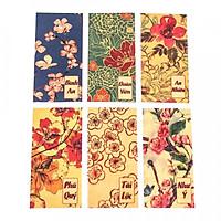 Set 6 bao lì xì vintage - Bông Hoa