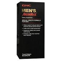 Thực Phẩm Chức Năng Hỗ trợ tăng cường khả năng tình dục ở nam giới GNC MEN'S ARGINMAX chai 90 viên