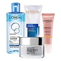 Bộ Chăm Sóc Da Ban Ngày Hoàn Hảo L'Oréal Paris (4 Món)