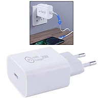 20W Quick Phone Charger Travel Wall Adapter with Charge Protection EU Plug