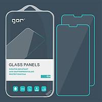 Bộ 2 miếng kính cường lực Gor cho Xiaomi Mi 8 Lite - Full Box - Hàng nhập khẩu