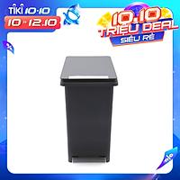 Thùng rác nhựa Fitis Compact PPS1-906 - xám - 10L