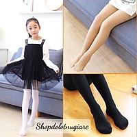 Quần tất cho bé gái 3 màu da, đen, trắng, quần boot hoạt hình ngộ nghĩnh (từ 2 - 10 tuổi)