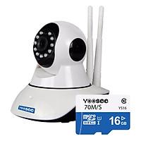 Camera Không Dây Yoosee YS1200 + Tặng Kèm Thẻ Nhớ 16GB - Hàng Nhập Khẩu