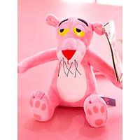 Thú bông Báo hồng tinh nghịch Pink Panther 28cm hàng Hàn cao cấp