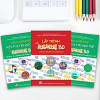 Combo bộ sách học lập trình Scratch 3.0 và luyện thi hội thi tin học trẻ