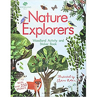 The Woodland Trust: Nature Explorers Woodland Activity và Sticker Book