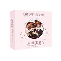 Hộp quà viền tròn Jibaku Shounen Hanako-kun Ác quỷ trong nhà xí anime chibi