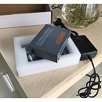 Thiết bị chuyển đổi quang điện Gigabit 10/100/1000M (1 sợi quang) Netlink HTB-4100A - Hàng nhập khẩu