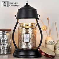 Đèn đốt nến thơm Vintage- Phong cách Hàn Quốc - chỉnh độ sáng