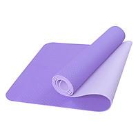 Thảm Tập Yoga Eco Friendly TPE - Tím (6mm)