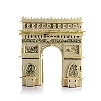 Bộ xếp hình 3D bằng gỗ KHẢI HUYỀN MÔN PARIS ALCC