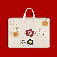 Túi đựng laptop, túi chống sốc macbook ipad chất liệu da cao cấp chống nước - Hàng nhập khẩu