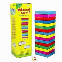 Đồ chơi rút gỗ màu 48 thanh loại lớn nhất - totdepreHG1023